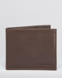 Longchamp - Le Foulonné Bifold Wallet With Coin Pouch - Lyst