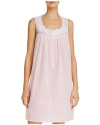 Eileen West - Rose Lawn Short Chemise - Lyst
