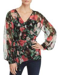 Vero Moda - Lili Floral Wrap Top - Lyst