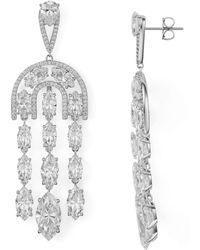 Nadri - Kara Chandelier Drop Earrings - Lyst