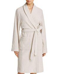 Hanro - Plush Wrap Robe - Lyst