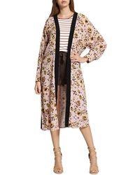 Sanctuary - Calico Floral Print Kimono - Lyst