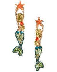BaubleBar - Beaded Mermaid Drop Earrings - Lyst