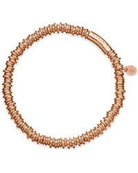 Links of London - 18k Rose Gold & Sterling Silver Sweetie Xs Bracelet - Lyst
