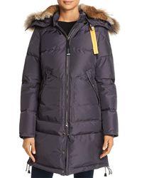 Parajumpers - Long Bear Fur - Trim Down Coat - Lyst