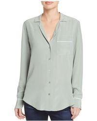 Equipment - Keira Pajama Silk Shirt - Lyst