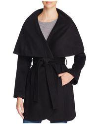 T Tahari | Marla Wrap Coat | Lyst