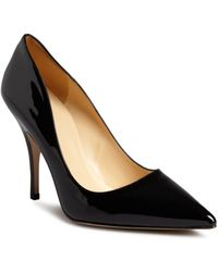 Kate Spade - Licorice Patent High Heel Pointed Toe Court Shoes - Lyst