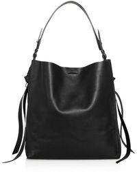 AllSaints - Voltaire Large Leather Tote - Lyst