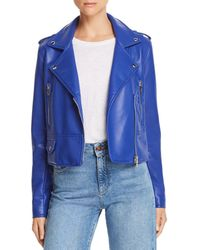 Blank NYC - Faux Leather Moto Jacket - Lyst