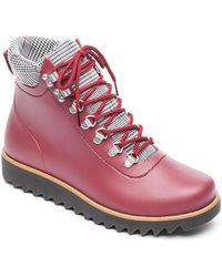 4d431d95e Sam Edelman Winnie Tassel Leather Booties in Brown - Lyst
