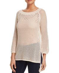 Love Scarlett - Open-knit Sweater - Lyst
