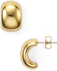 Nadri - Cushion Hoop Earrings - Lyst