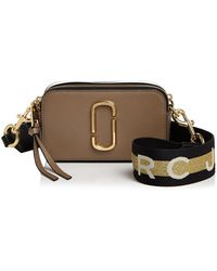 Marc Jacobs - Snapshot Saffiano Leather Crossbody - Lyst