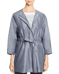 Lafayette 148 New York - Stephania Belted Jacket - Lyst