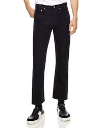 Sandro - Straight-leg Ankle-length Jeans In Black - Lyst