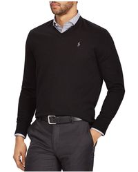 Polo Ralph Lauren - V-neck Merino Wool Sweater - Lyst