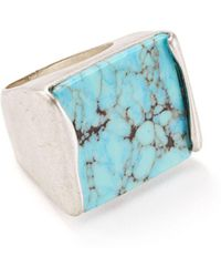 Robert Lee Morris - Geometric Cocktail Ring - Lyst