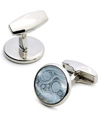 Simon Carter - Paisley Mother-of-pearl Cufflinks - Lyst