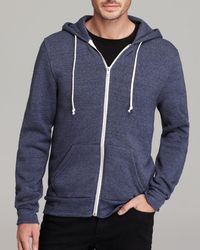 Alternative Apparel - Rocky Zip Hoodie - Lyst