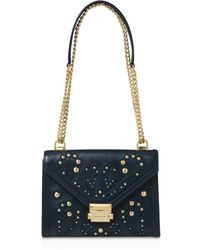 MICHAEL Michael Kors - Whitney Large Leather Shoulder Bag - Lyst