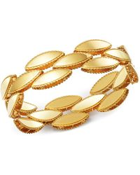 Roberto Coin - 18k Yellow Gold Retro Bracelet - Lyst