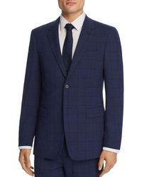 Theory - Chambers Windowpane Slim Fit Suit Jacket - Lyst