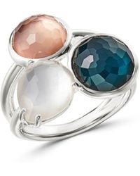 Ippolita - Sterling Silver Wonderland Mother-of-pearl Doublet Ring - Lyst