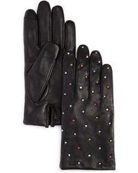 Echo Rani Embellished Leather Gloves