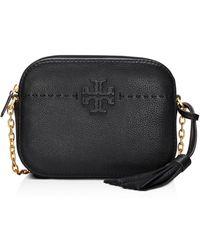 Tory Burch - Mcgraw Leather Camera Bag - Lyst
