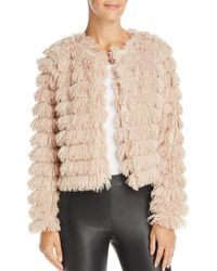 Sage the Label - Prism Faux-feather Jacket - Lyst