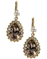 Marchesa - Pear Drop Earrings - Lyst