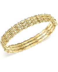 Temple St. Clair | 18k Yellow Gold Vigna Bracelet With Diamond | Lyst