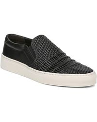 Via Spiga - Women's Sara Woven Leather Slip-on Trainers - Lyst