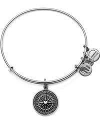 ALEX AND ANI - True Direction Expandable Wire Bangle - Lyst