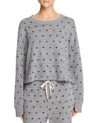 Splendid - Dot-print Sweatshirt - Lyst