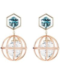 Atelier Swarovski   X Mary Katrantzou Nostalgia Drop Earrings   Lyst
