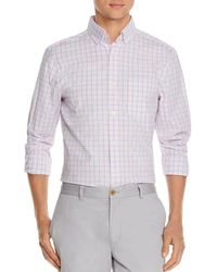 9423dba0ca Vineyard Vines - Murray Windowpane Check-print Classic Fit Button-down Shirt  - Lyst