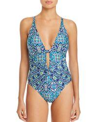 La Blanca - Tuvalu Twist Detail One Piece Swimsuit - Lyst