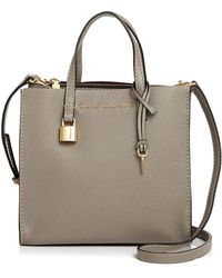 Marc Jacobs - The Mini Grind Leather Crossbody - Lyst