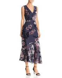 Sam Edelman - Burnout Velvet Dress - Lyst