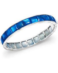 Ippolita - Sterling Silver Rock Candy® Wonderland Channel Set Bracelet In Ultramarine - Lyst
