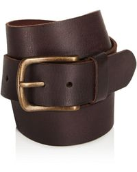 John Varvatos | Leather Belt | Lyst