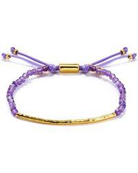 Gorjana - Amethyst Tranquility Bracelet - Lyst