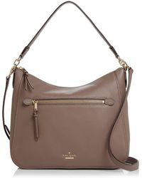 Kate Spade - Jackson Street Quincy Large Leather Shoulder Bag - Lyst