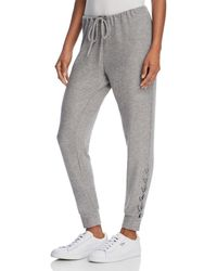 Chaser - Lace-up Jogger Pants - Lyst