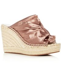 Kenneth Cole - Women's Odele Espadrille Wedge Slide Sandals - Lyst