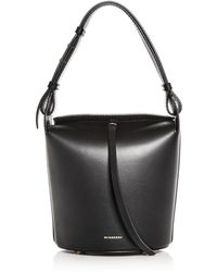 Burberry - The Small Leather Bucket Bag - Lyst 2cc6427c5c088
