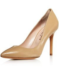 Charles David - Genesis Leather Pointed Toe High Heel Court Shoes - Lyst