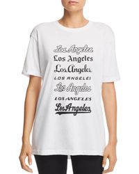 Knowlita - Los Angeles Graphic Tee - Lyst